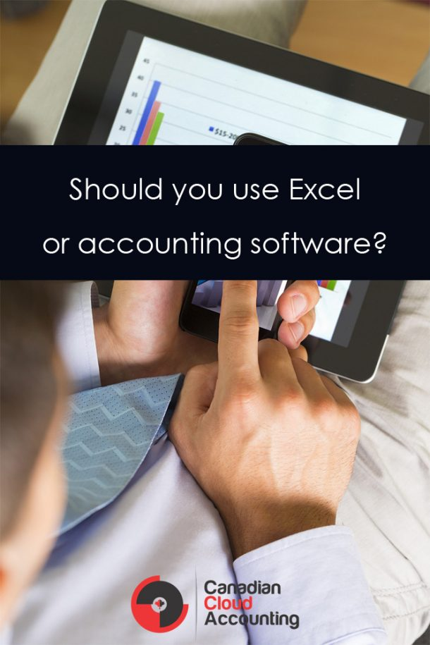 Excel vs Accounting Software