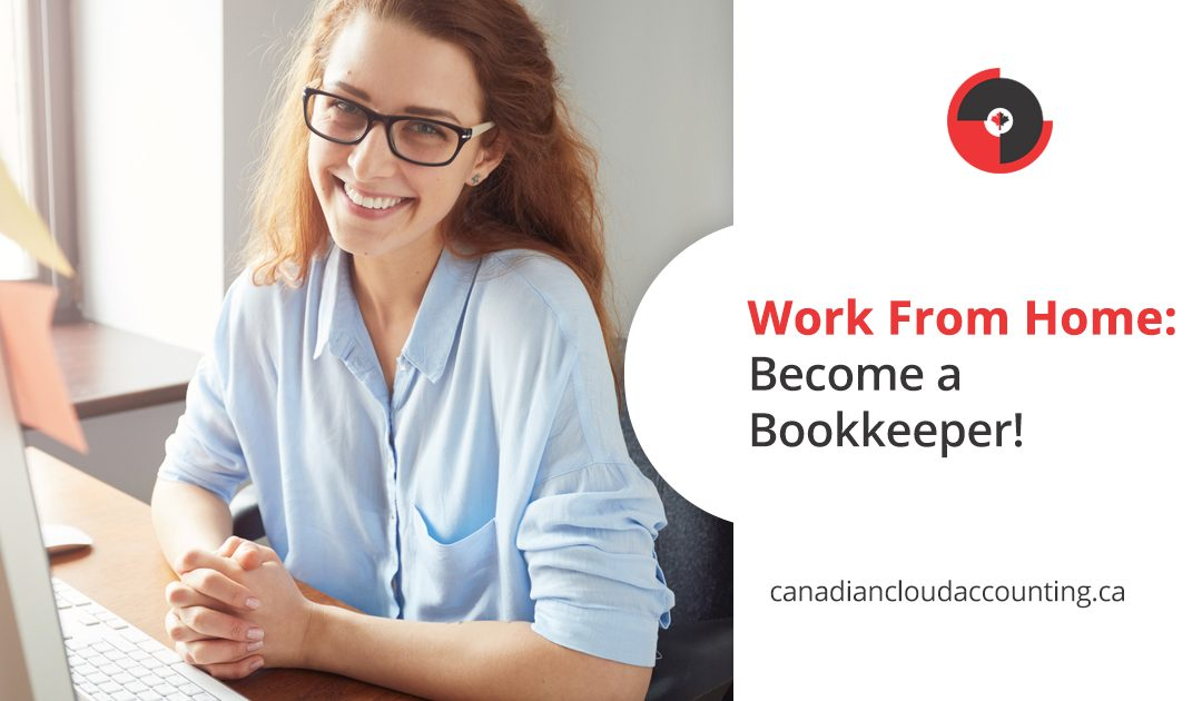Work from home: Become a bookkeeper